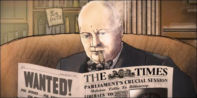 Alors qu'il devient premier ministre du gouvernement britannique, qui proclame sa volonté de lutter contre l'Allemagne nazie ?