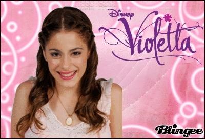 Comment s'appelle la soeur de Violetta ?