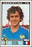 Dans quel club jouait Michel Platini lorsqu'il a été 3 fois (consécutivement) ballon d'or ?