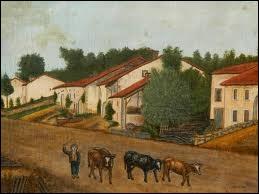 Qui a peint Paysage aux vaches ?