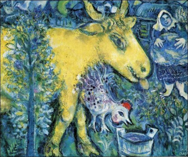 Qui a peint cette vache ?