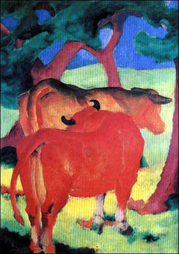 Qui a peint Vaches sous les arbres ?