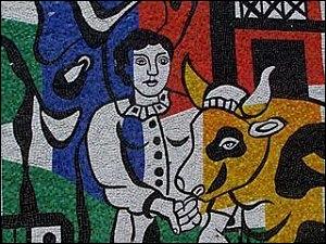 Qui a peint La fermière et la vache ?