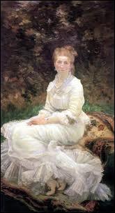 Qui a peint  La dame en blanc  ?