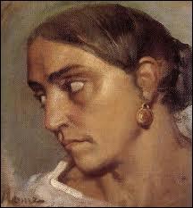 Qui a peint  Etude de jeune italienne à la boucle d'oreille  ?