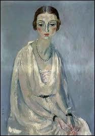 Qui a peint  Portrait de Jeanne Mathis  ?