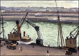 Qui a peint  Vue du port de Boulogne sur mer  ?