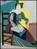 Qui a peint  Portrait de femme, face et profil  ?