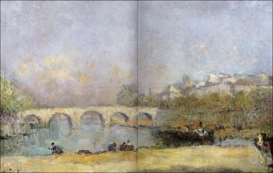 Qui a peint  Pont Marie à Paris  ?