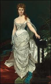 Qui a peint  Portrait en pied de la marquise Anforti  ?