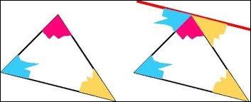 Un triangle rectangle a un angle aigu qui mesure 30°, quelle est la mesure de l'autre angle aigu ?