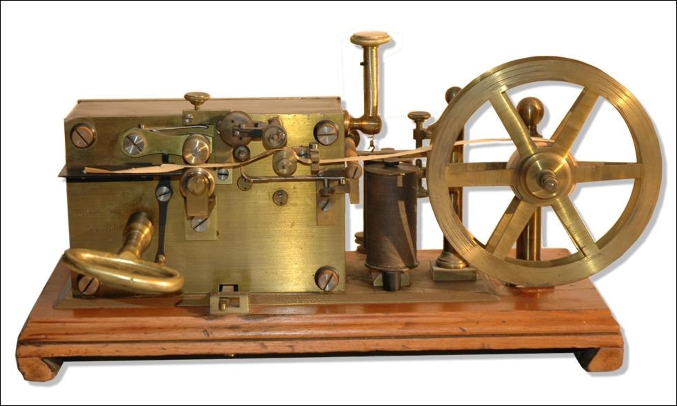 On lui attribua l'invention du télégraphe électrique et de l'alphabet composé de traits et de points dans les années 1840.