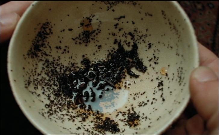 Au cours de divination, qui  traduit  en premier la tasse de Harry ?