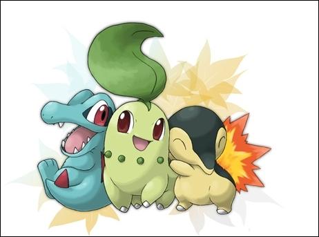 De quelle région ces Pokémon sont-ils les starters ?