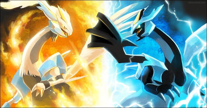 Quel est le Pokémon à droite de l'image ?