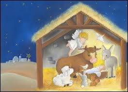 Dans la chanson qui dort  entre le boeuf et l'âne gris  ?