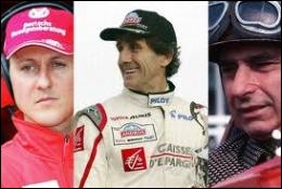 Quel pilote détient le record du plus grand nombre de titres de champion du monde de Formule 1 ?
