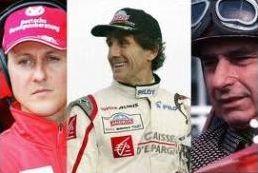 Les pilotes de F1 de légende