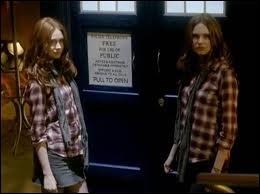 Vrai ou faux ? Cette image est dans un épisode de Doctor Who, je précise, qui fait partie de la série.