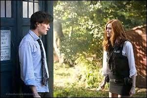 Quand est-ce qu'Amy a vu le Docteur pour la première fois ?