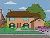 Quel(le) voisin(e) des Simpson est décédé(e) pendant une course de voitures ?