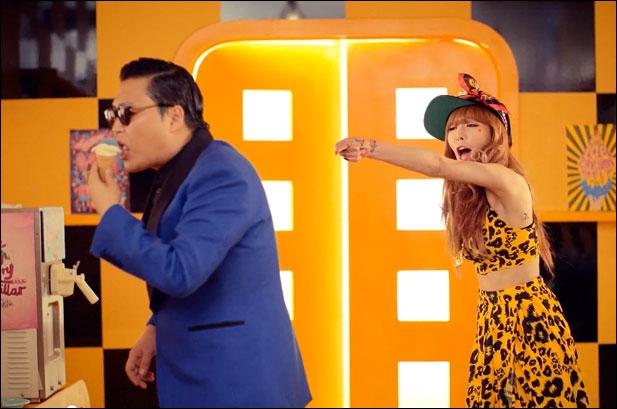 Psy apparaît dans le dernier MV de HyunA, mais comment s'appelle-t-il ?