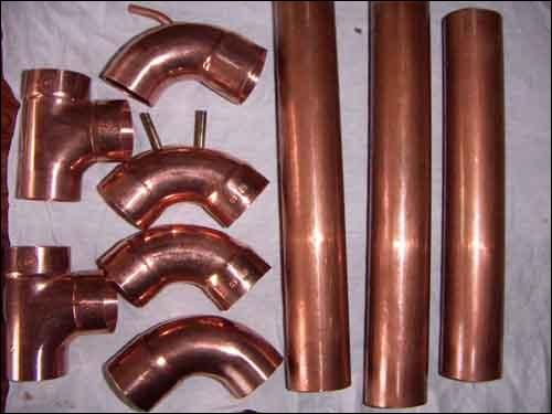 Les tuyaux de nos maisons sont faits avec ce métal que l'on trouve à l'état natif.
