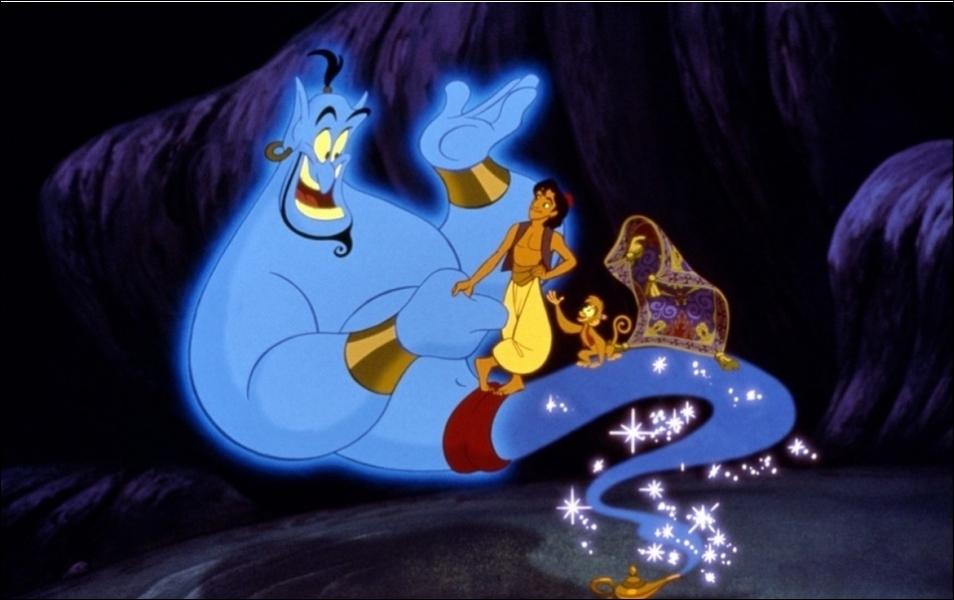 Dans Aladdin, comment s'appelle le père d'Aladdin ?