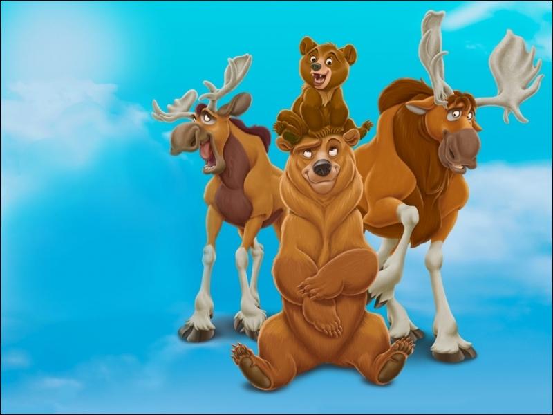 Dans Frère des ours, pour quelle raison Kenaï est-il transformé en ours ?