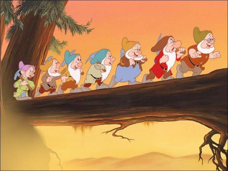 Dans Blanche-Neige et les sept nains, comment se prénomment les sept nains ?