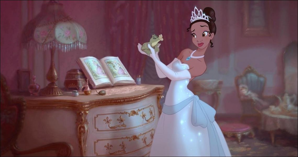 Dans La princesse et la grenouille, quel est le rêve de Louis, le crocodile ?