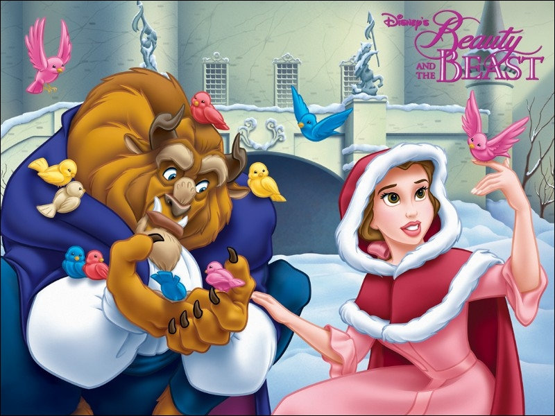 Dans La belle et la bête, comment Belle parvient-elle a reconnaître la bête lorsqu'elle reprend forme humaine ?