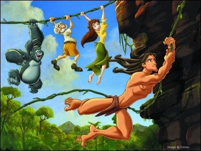 Dans Tarzan, quel est le but de l'expédition de Jane et son père ?