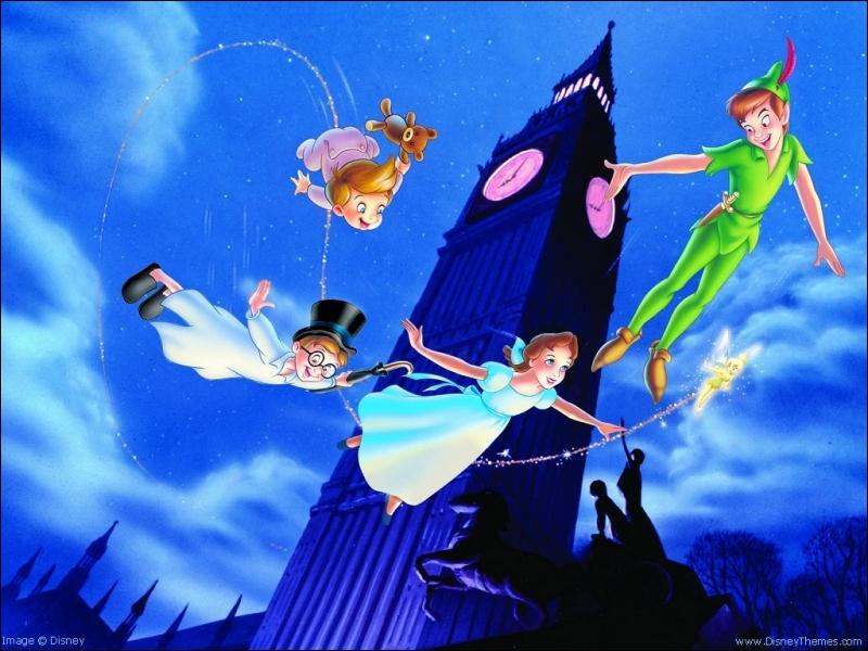 Dans Peter-Pan, quel est le secret pour voler ?