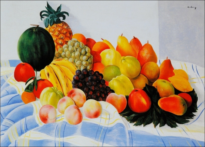 Nature morte aux fruits, 1920