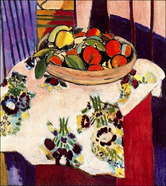 Nature morte aux oranges, 1912 -1913.
