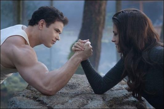 Chez qui Edward, Bella, Jacob et Renesmée vont-ils demander de l'aide en premier lieu ?