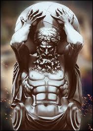 Quel personnage de la mythologie grecque a été condamné par Zeus à porter la voûte céleste sur ses épaules pour l'éternité ?