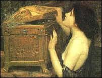 Quel personnage féminin de la mythologie grecque a ouvert la boîte offerte par Zeus, laissant échapper tous les malheurs du monde ?