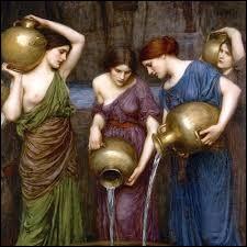 Quel groupe de femmes de la mythologie grecque a été comdamné à remplir éternellement un tonneau percé ?