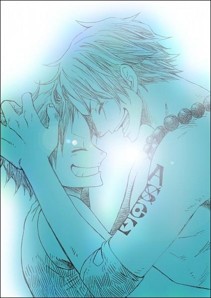 Où parle-t-on d'Ace la première fois dans le manga ?
