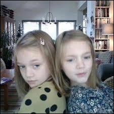 Comment s'appellent les soeurs jumelles de Louis ?