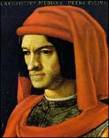 Comment appelait-on les hommes qui finançaient les artistes de la Renaissance ? (ici Laurent de Médicis)