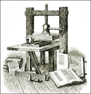 Dans quelle ville Gutenberg a-t-il inventé l'imprimerie, ce qui a permis la diffusion rapide de l'humanisme et de la Renaissance ?