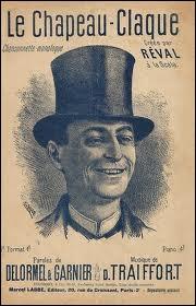 Comment appelle-t-on le chapeau claque (ou gibus) en anglais ?