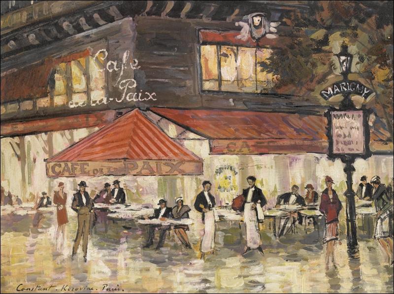 Quizz Au Caf 2 Quiz Peintres