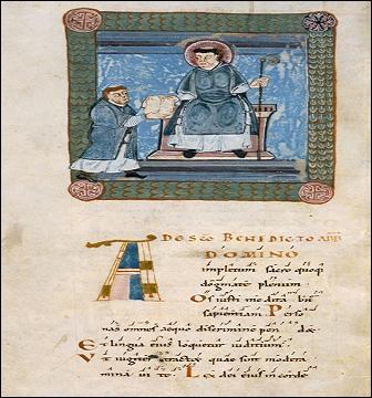 Elle est en usage dans les monastères bénédictins ; elle prescrit aux moines, comme tâches quotidiennes, la lecture individuelle ou commune, l'étude et la copie des manuscrits.