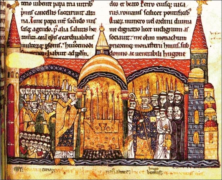 La 1re abbatiale de Cluny fut fondée en 909 par Bernon, noble bourguignon devenu bénédictin, et suit la stricte règle de Saint-Benoît. Qui consacra la 3e abbatiale du monastère ?