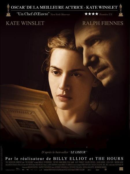 Film américain de Stephen Daldry (2008) adapté du best-seller  Le Liseur  de l'auteur allemand Bernhard Schlink, avec Kate Winslet, Ralph Fiennes, Bruno Ganz ... .