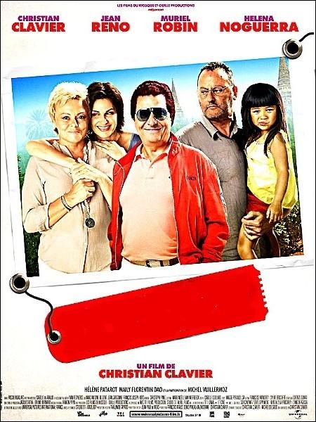 Comédie française écrite, produite et réalisée par Christian Clavier en 2011 avec Christian Clavier, Jean Reno, Muriel Robin, Helena Noguerra, Michel Vuillermoz ... .